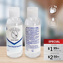 HS003 100 ML (3.3 OZ) HAND SANITIZERS